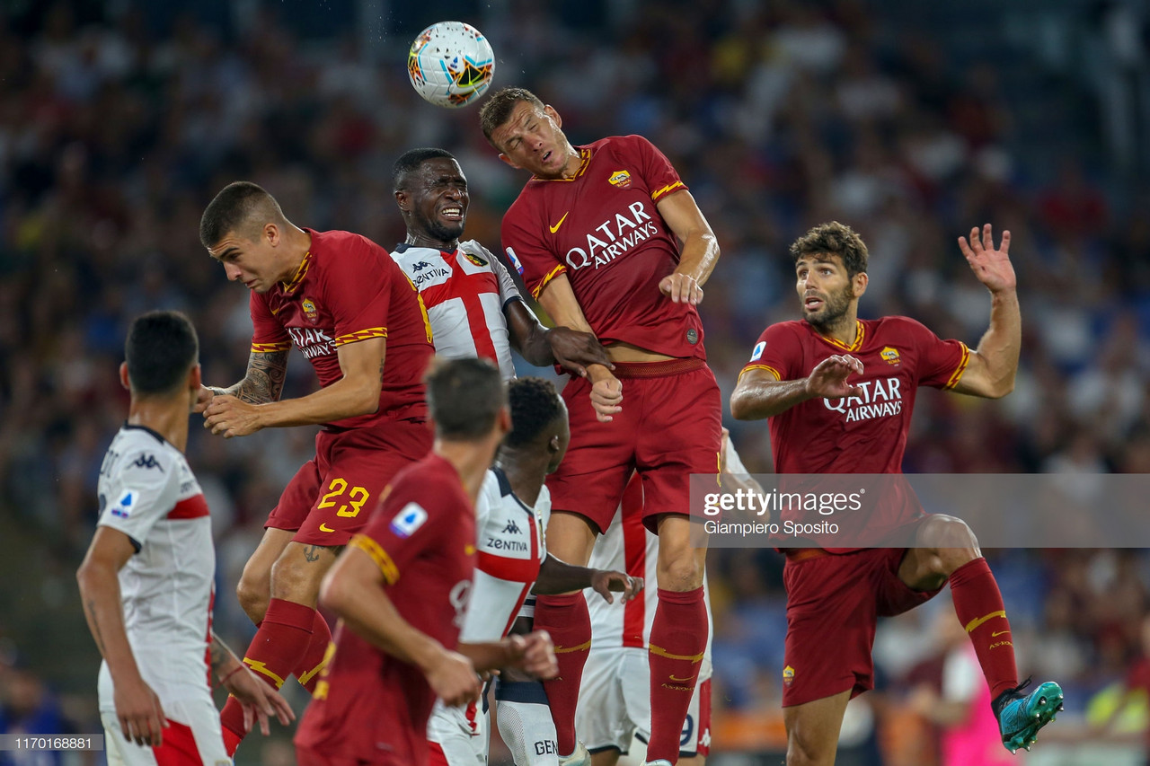AS Roma 3-3 Genoa: The Giallorossi start their campaign with a thrilling draw