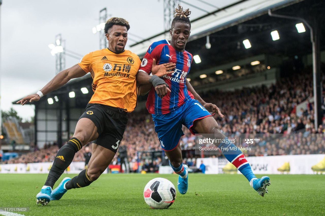 Podence, Jonny strike as Wolves punish Palace