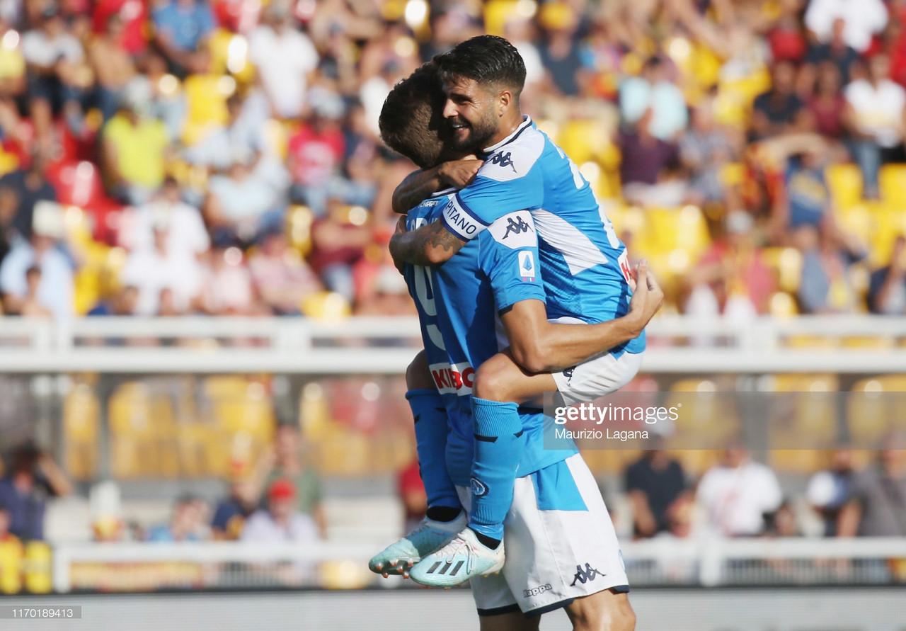 Lecce 1-4 Napoli: Napoli run wild in Lecce