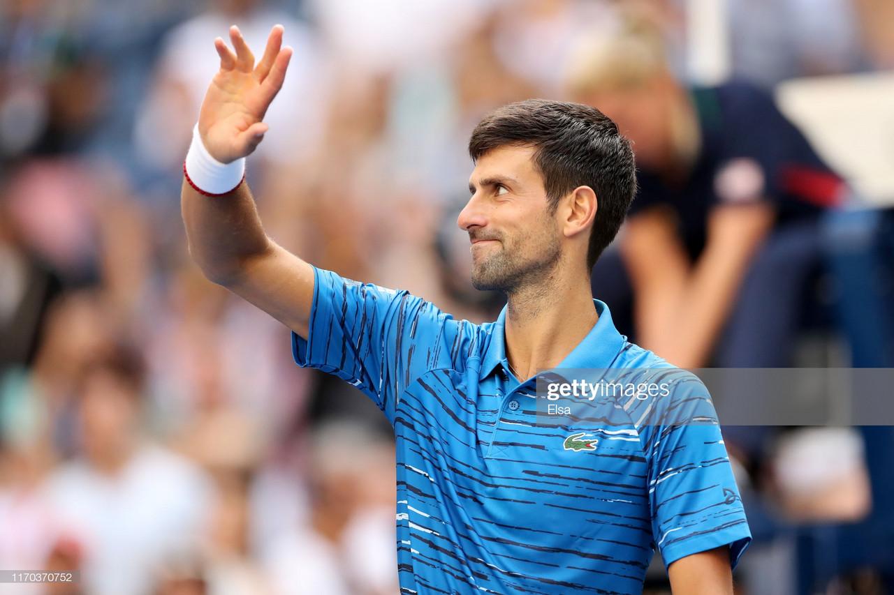 US Open: Novak Djokovic eases past Roberto Carballes Baena in straight sets