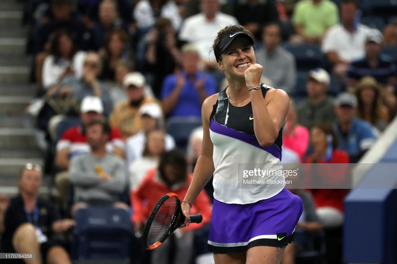 2019 US Open: Elina Svitolina tops Venus Williams to reach third round