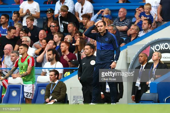 Frank Lampard defends Chelsea defence and substitutions after Sheffield United draw