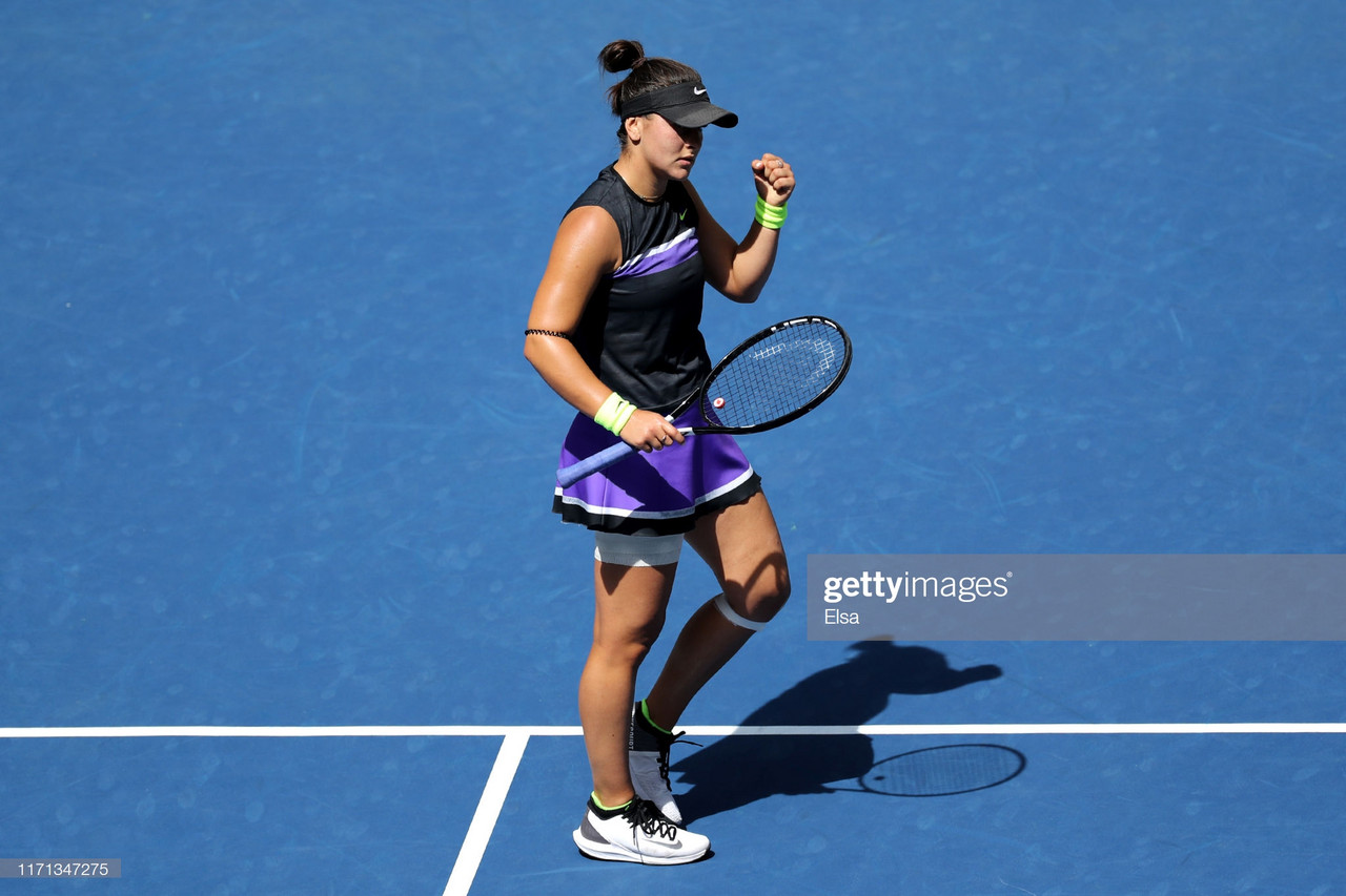 US Open: Bianca Andreescu continues to roll, beats Caroline Wozniacki in straight sets