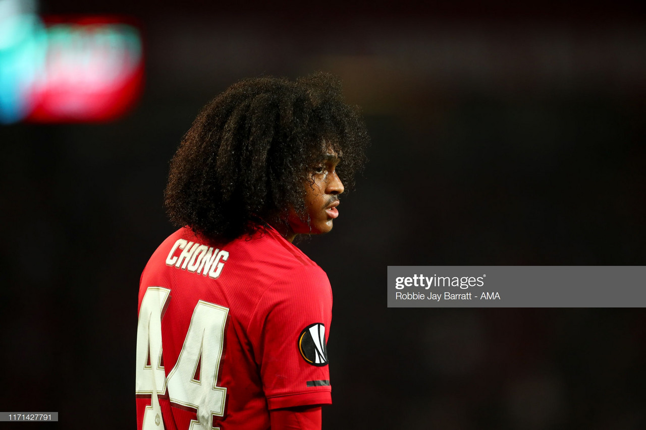 Tahith Chong fails to take his Manchester United chance