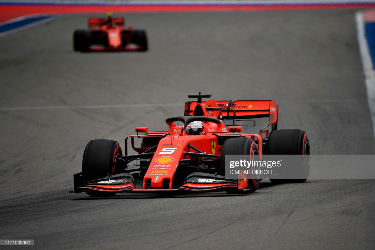 Ferrari dominate in FP3