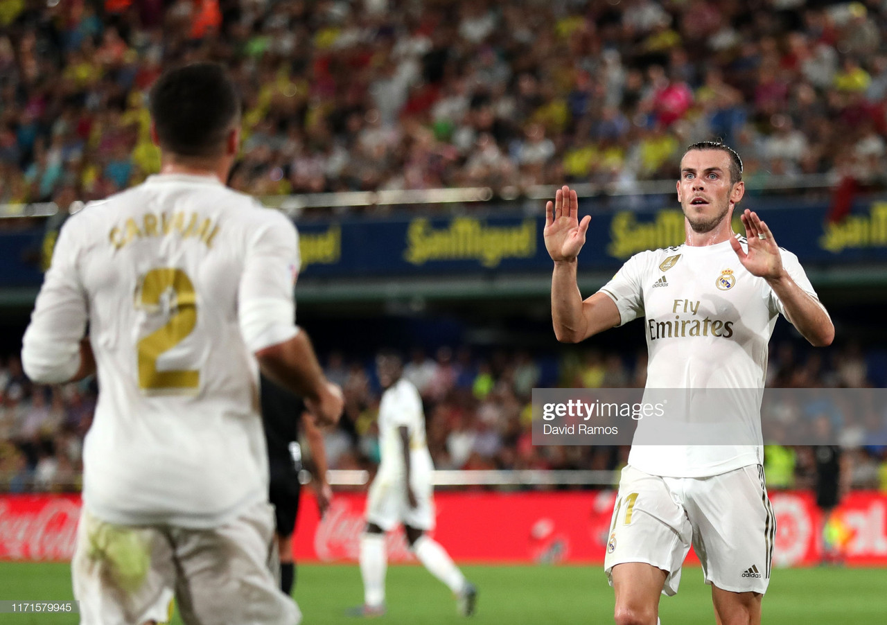 Villarreal 2-2 Real Madrid: Los Blancos held in thriller as Gareth Bale scores and gets sent off