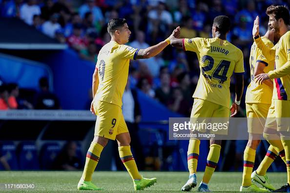 Getafe 0-2 Barcelona: Barcelona get first away win at the Coliseum