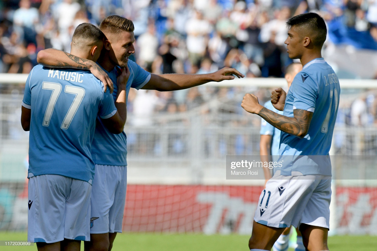 Lazio 4-0 Genoa: Sergej Milinkovic-Savic leads the way for Lazio