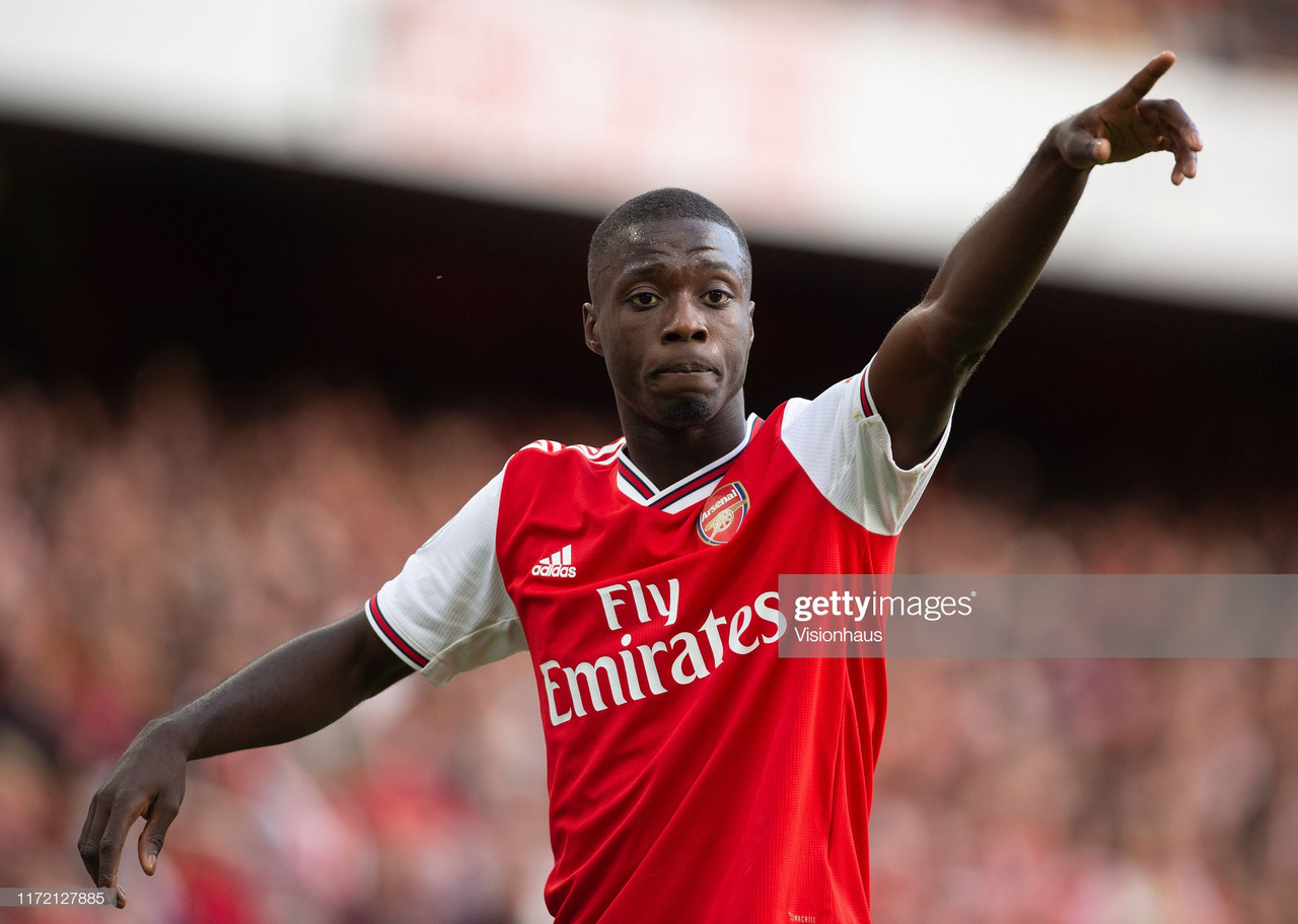 Nicolas Pepe leaves Ivory Coast camp to make early return to Arsenal