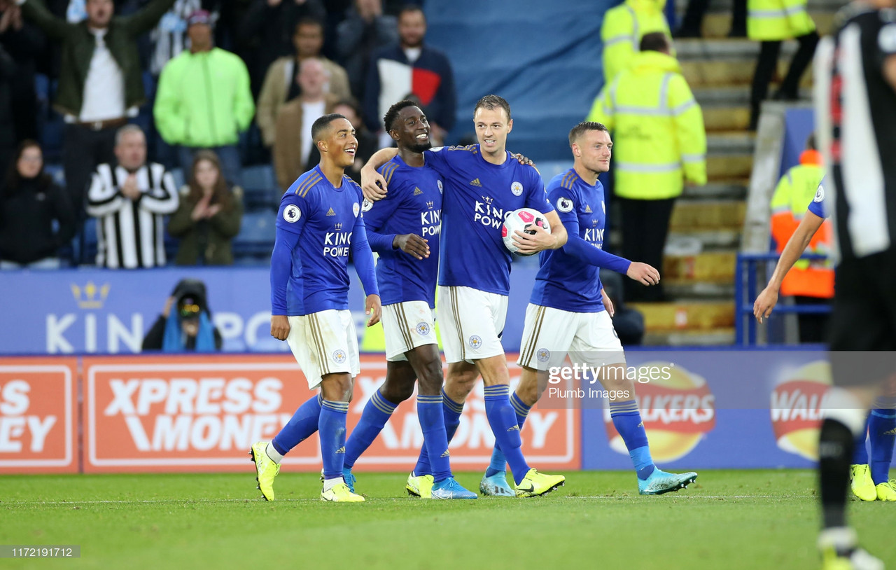 Leicester City 5-0 Newcastle United: Foxes run riot against ten-man Magpies