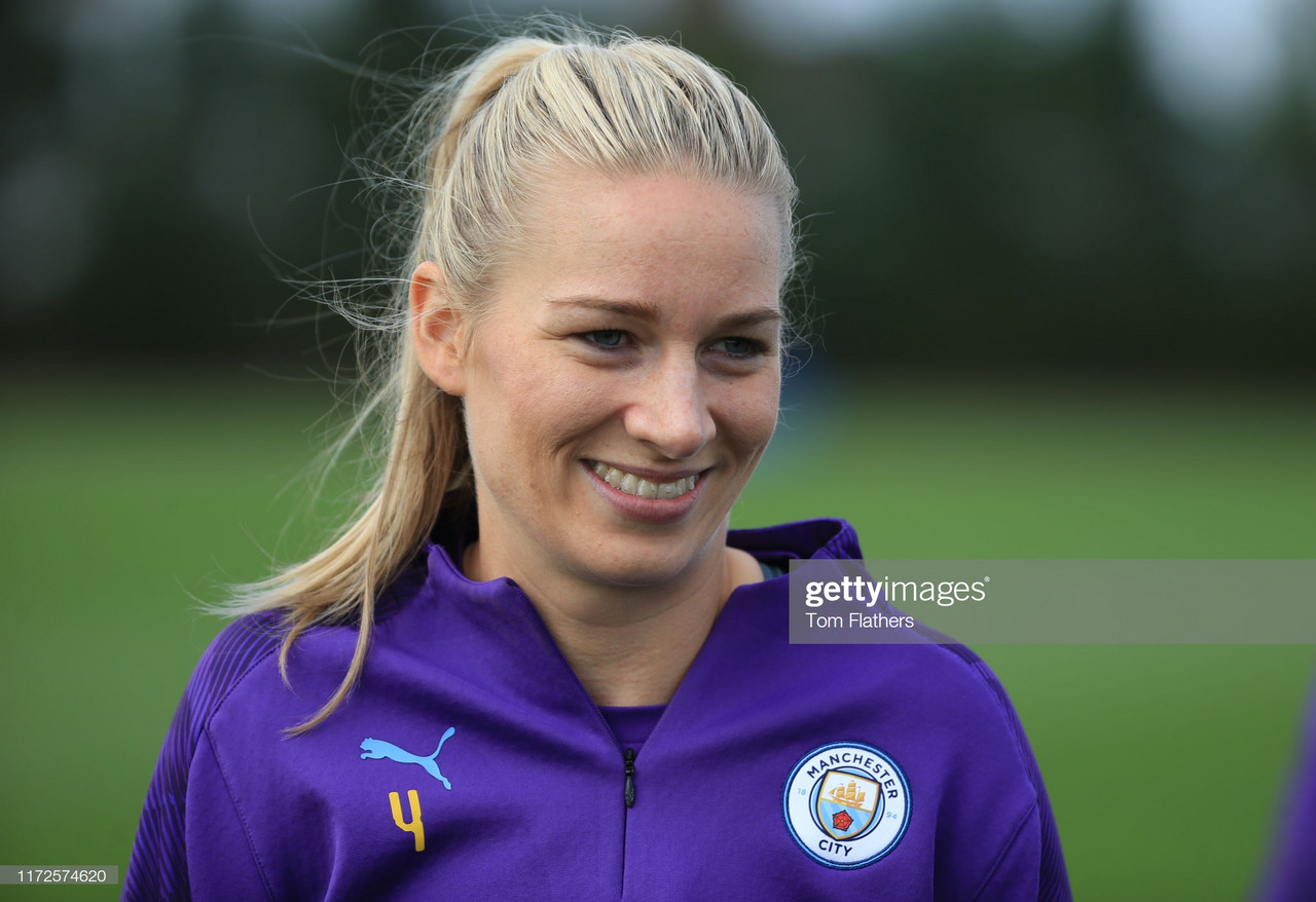 """Manchester City's Gemma Bonner: """"We need to be more ruthless"""""""
