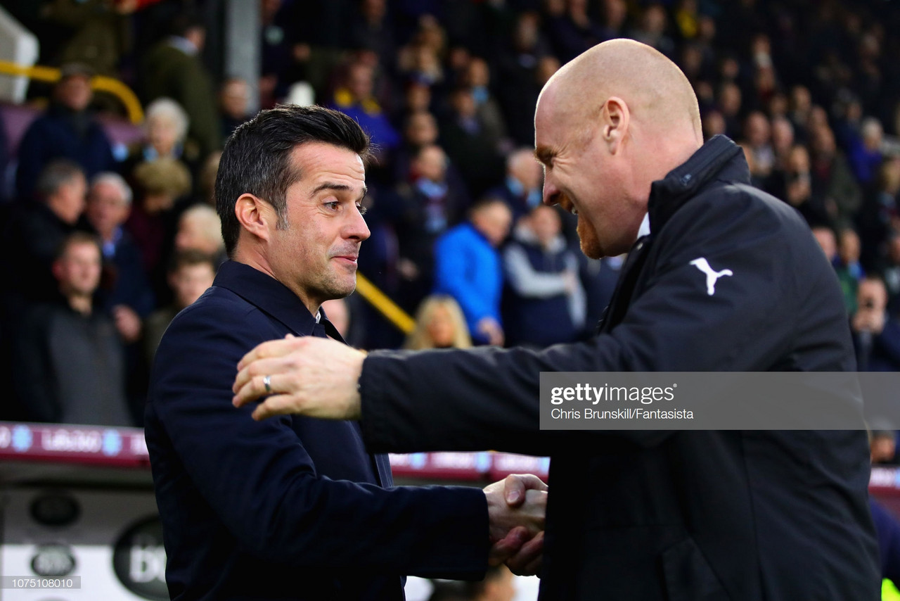 Sean Dyche insists Burnley won't take Everton for granted