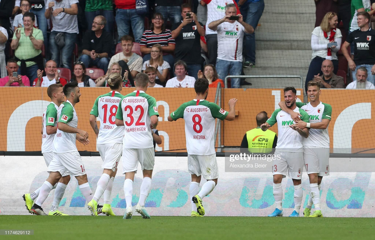 FC Augsburg 2 - 1 Eintracht Frankfurt: Bavarians prove too strong for Eagles