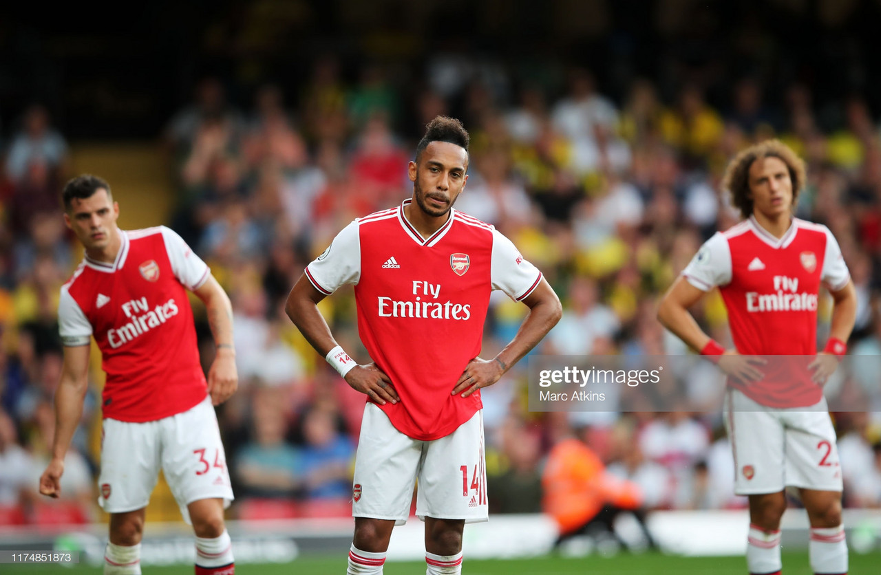 'We are literally giving goals to the opposition', Aubameyang vents his frustration after Watford draw