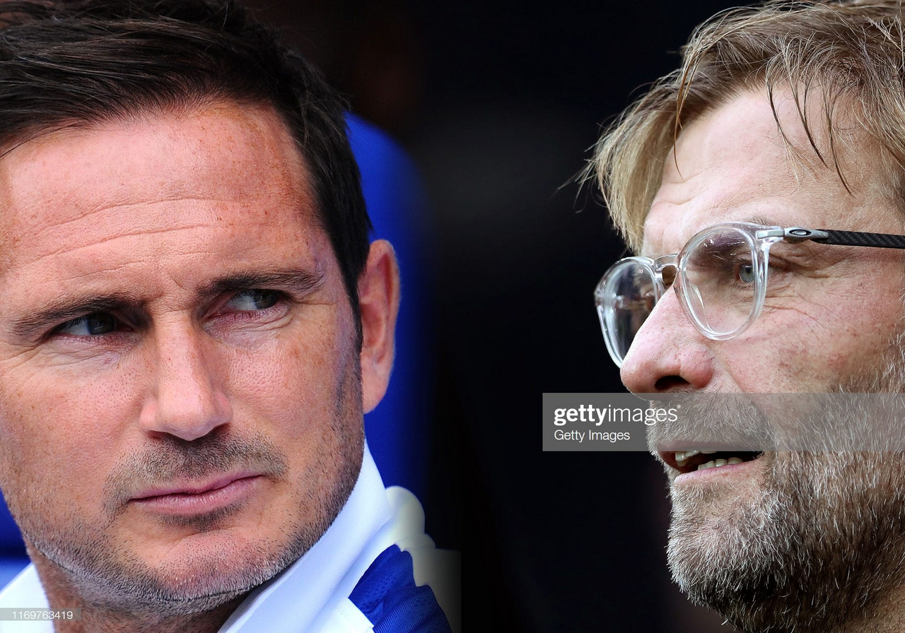 Jurgen Klopp praises opposite number Frank Lampard ahead of Chelsea clash