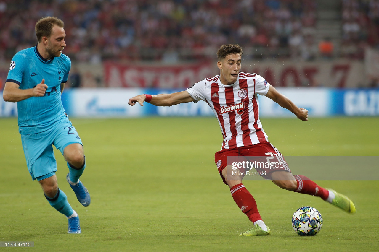 Olympiakos 2-2 Tottenham Hotspur: Spurs throw away two goal lead in Athens