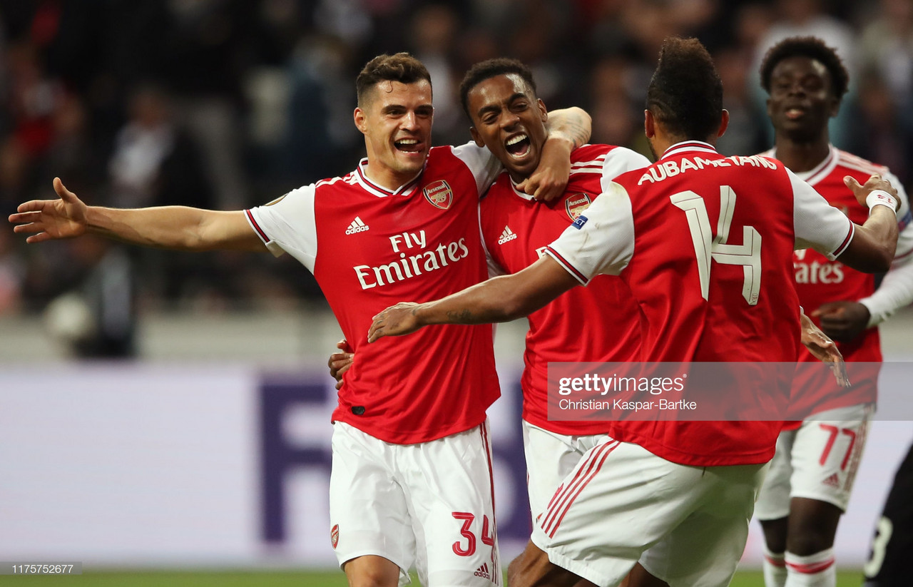 Eintracht Frankfurt 0 - 3 Arsenal: Bukayo Saka impresses in Gunners win