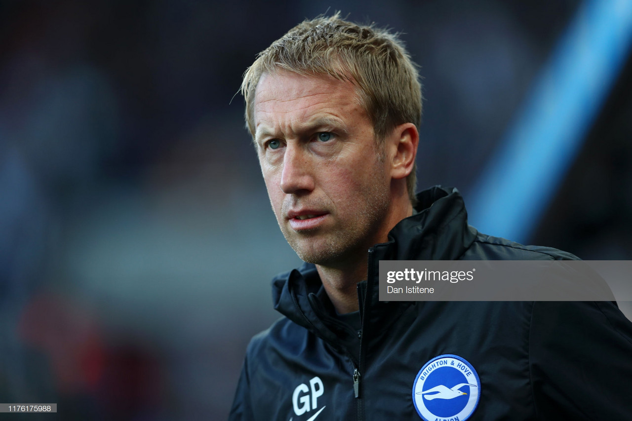 "Graham Potter says the ""final part will come"" after Brighton fire blanks at Newcastle"