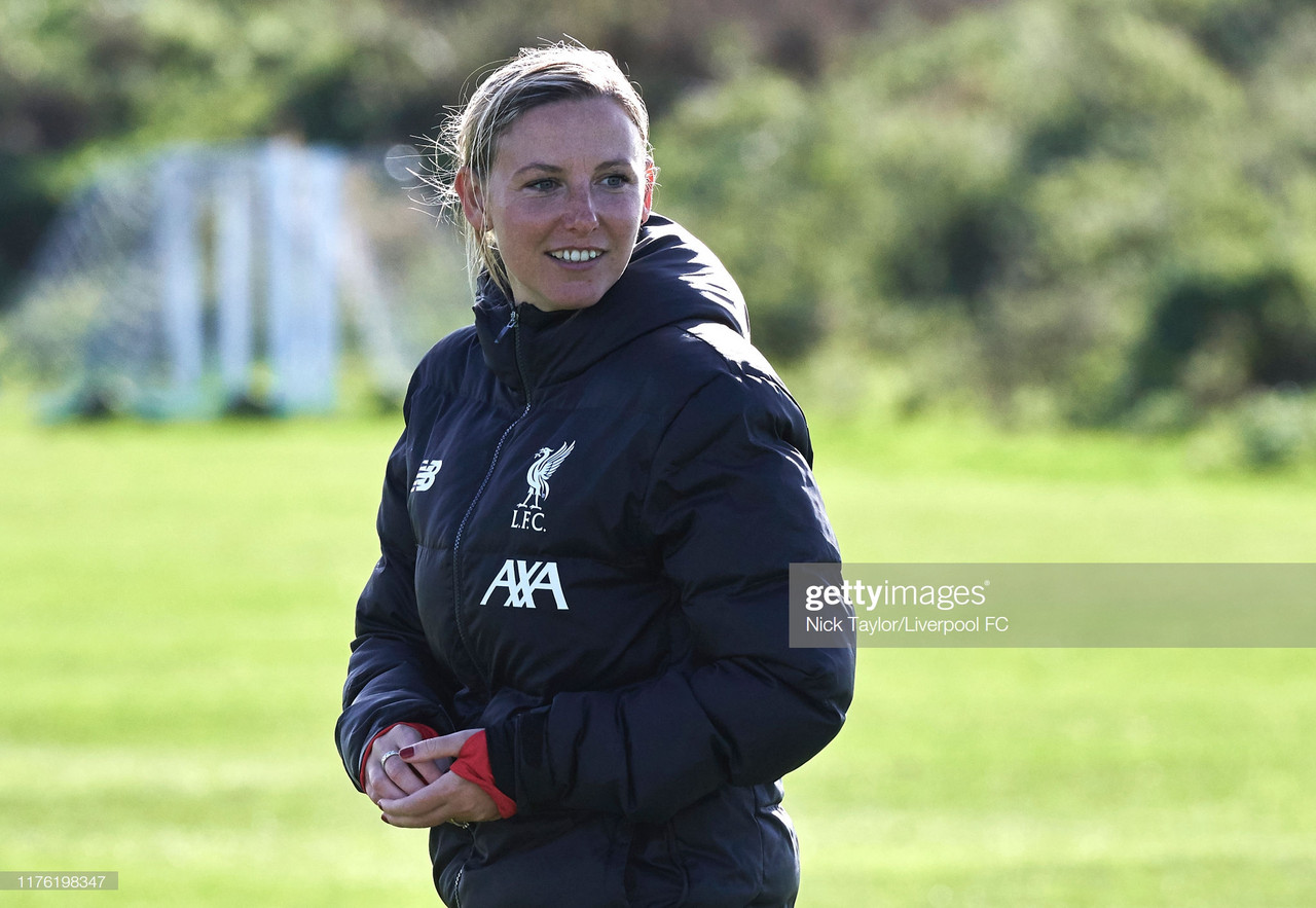 Vicky Jepson draws on Klopp's success ahead  of historic Anfield clash