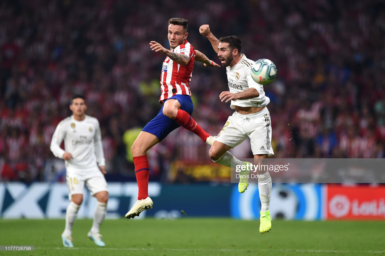 Atletico Madrid 0-0 Real Madrid: Madrid giants cancel each other out in cagey derby