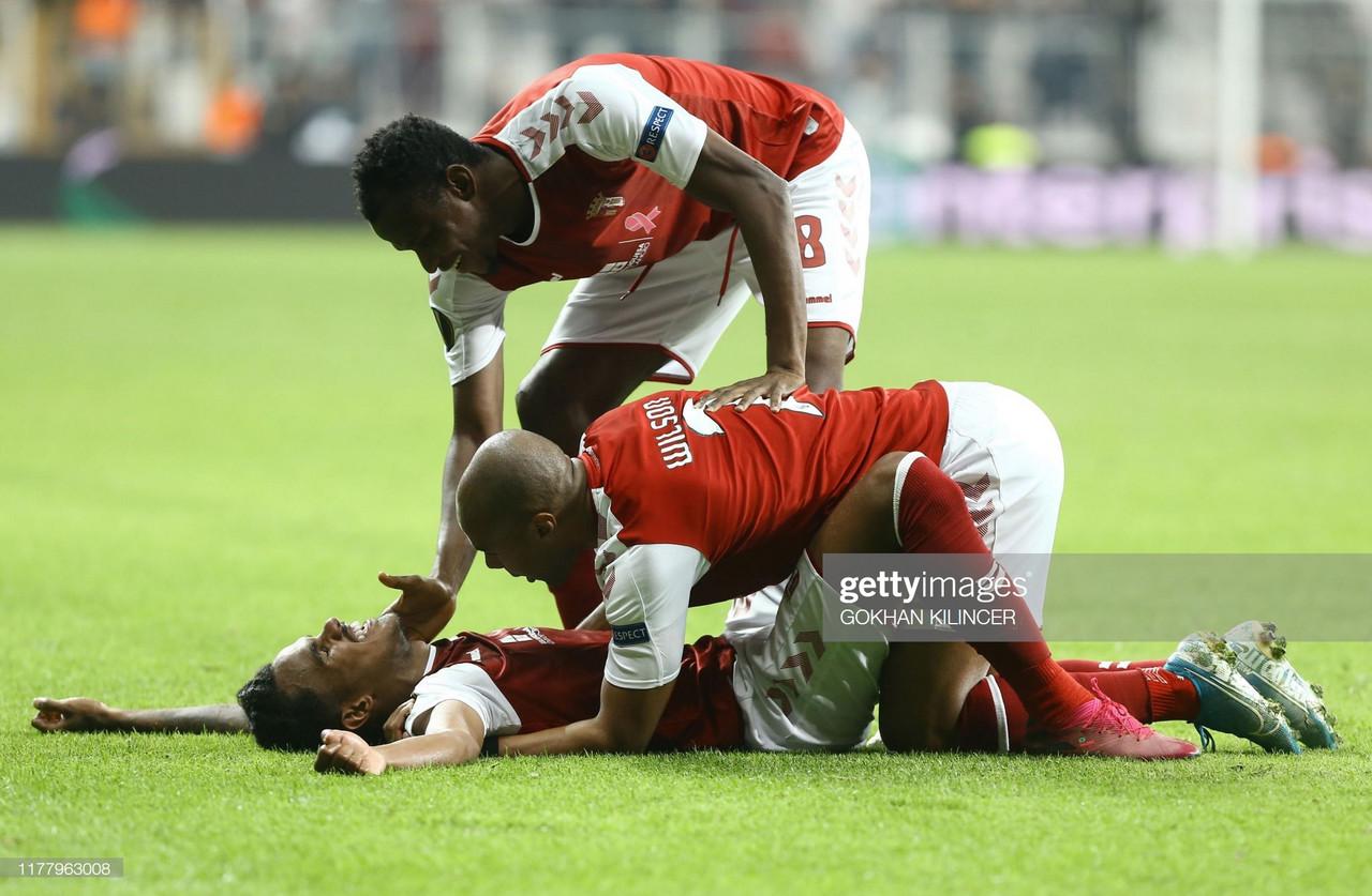 Depois da reviravolta no marcador, Braga desperdiça vantagem