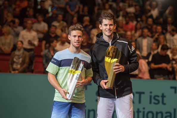 Dominic Thiem beat Diego Schwartzman in the final last year (Image: Andrea Kareth)