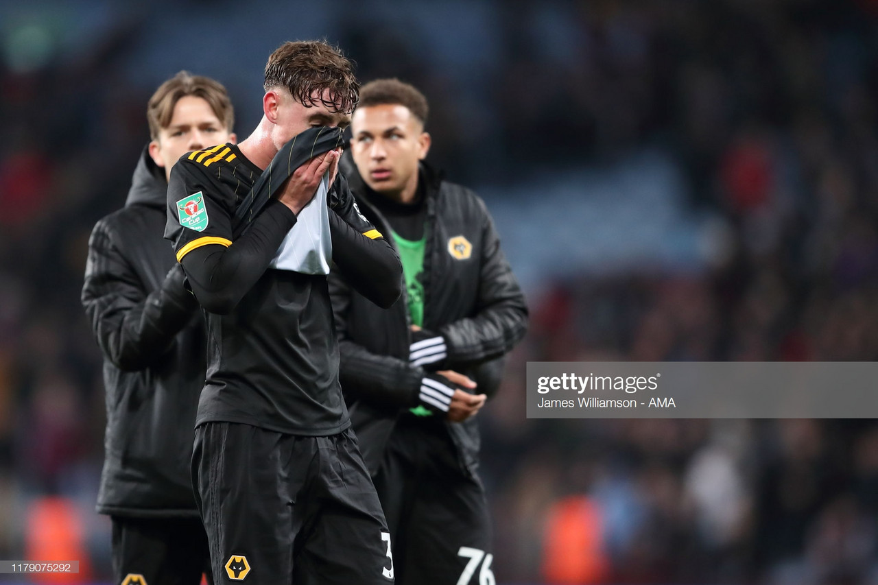 Aston Villa 2-1 Wolves: Young Wolves out of the Cup