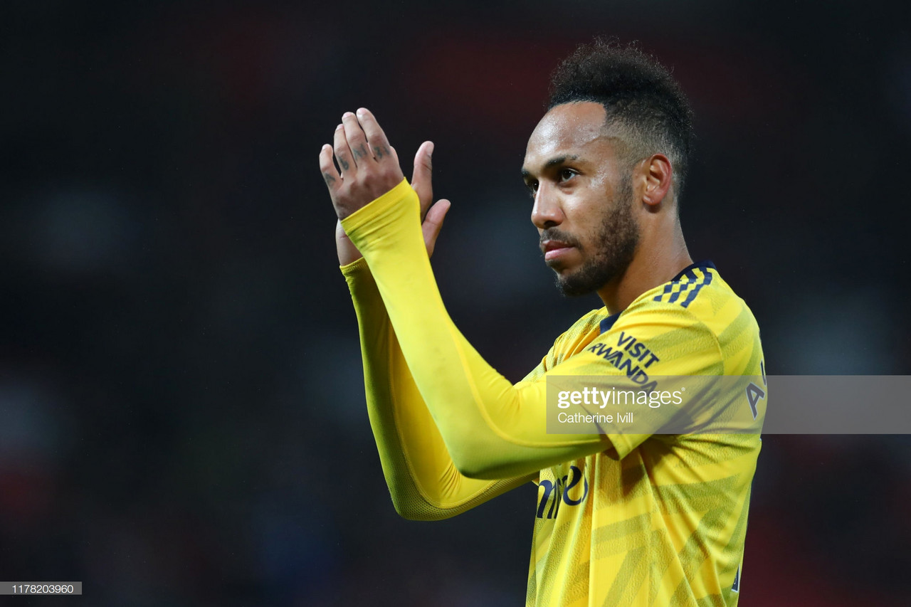 Pierre-Emerick Aubameyang named Premier League September Player of the Month