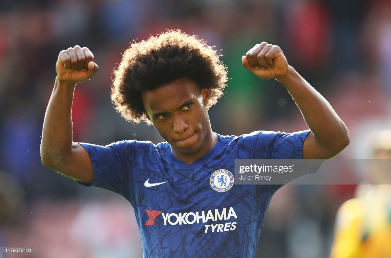 Willian emphasises the winning mentality needed to play for Chelsea