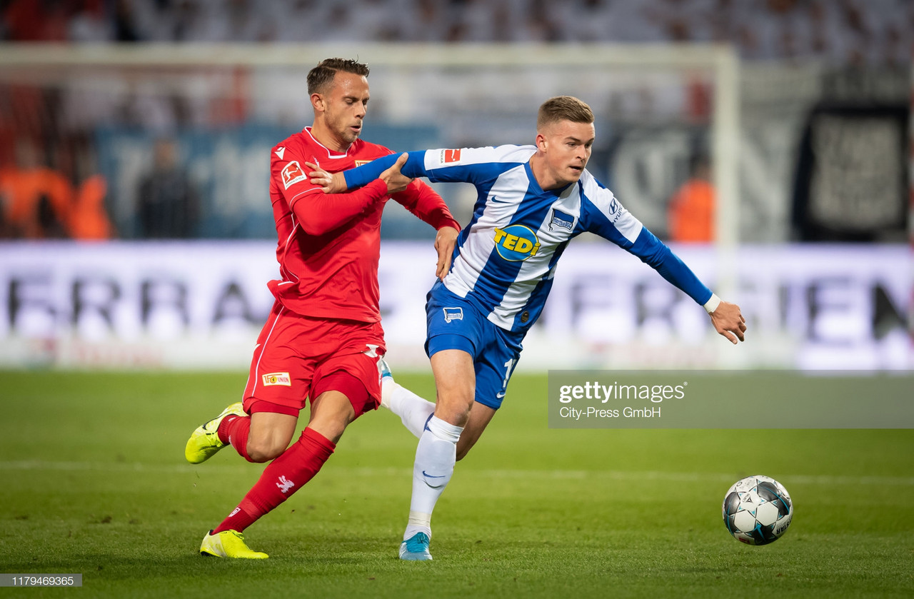 Union Berlin 1-0 Hertha Berlin: Late winner gives Union bragging rights in inaugural derby against Hertha
