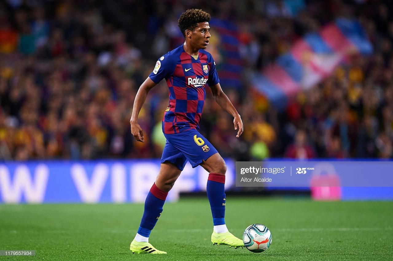 Everton make bid for Barcelona defender Jean-Clair Todibo