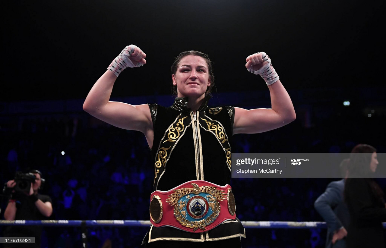 Katie Taylor: 'This is professional boxing and anything can happen'