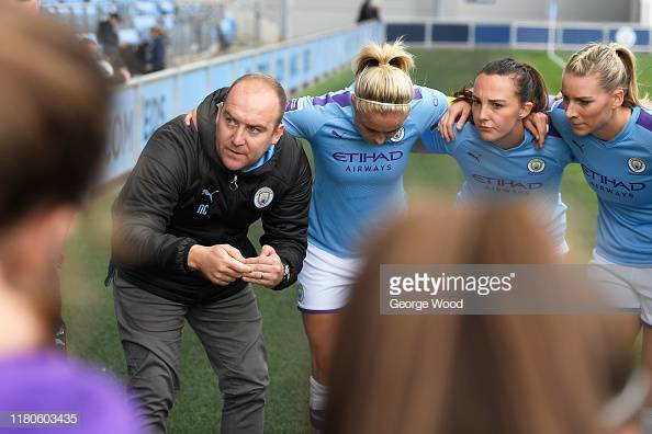 Nick Cushing to leave Manchester City Women