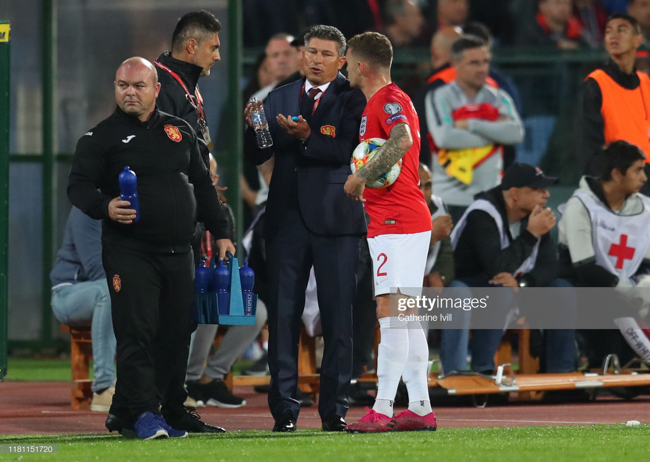 Bulgaria national coach, Krasimir Balakov resigns after England defeat was deeply marked for wrong reasons