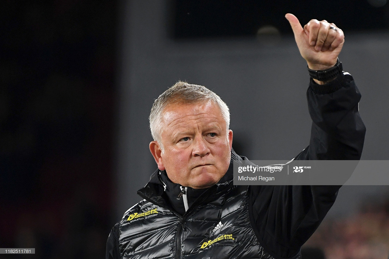 """Chris Wilder: """"The attitude of the players has been outstanding"""""""
