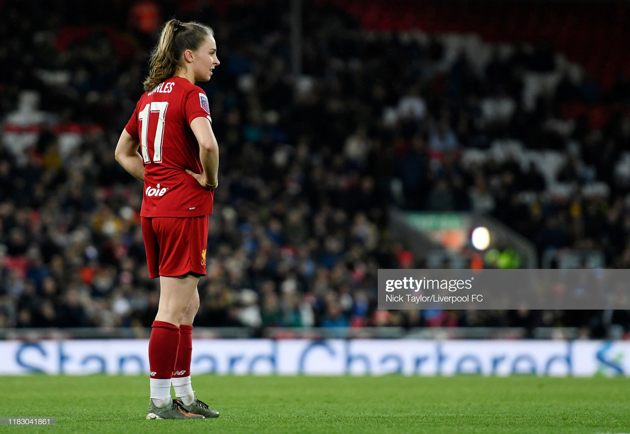 Liverpool 0-1 Everton: Blues come out on top in first WSL game at Anfield