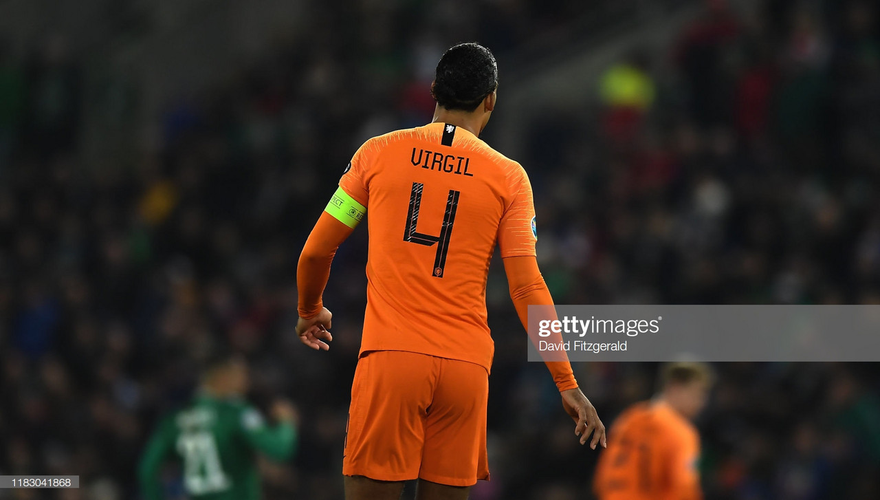 Virgil van Dijk becomes fifth Liverpool player to withdraw from international squad