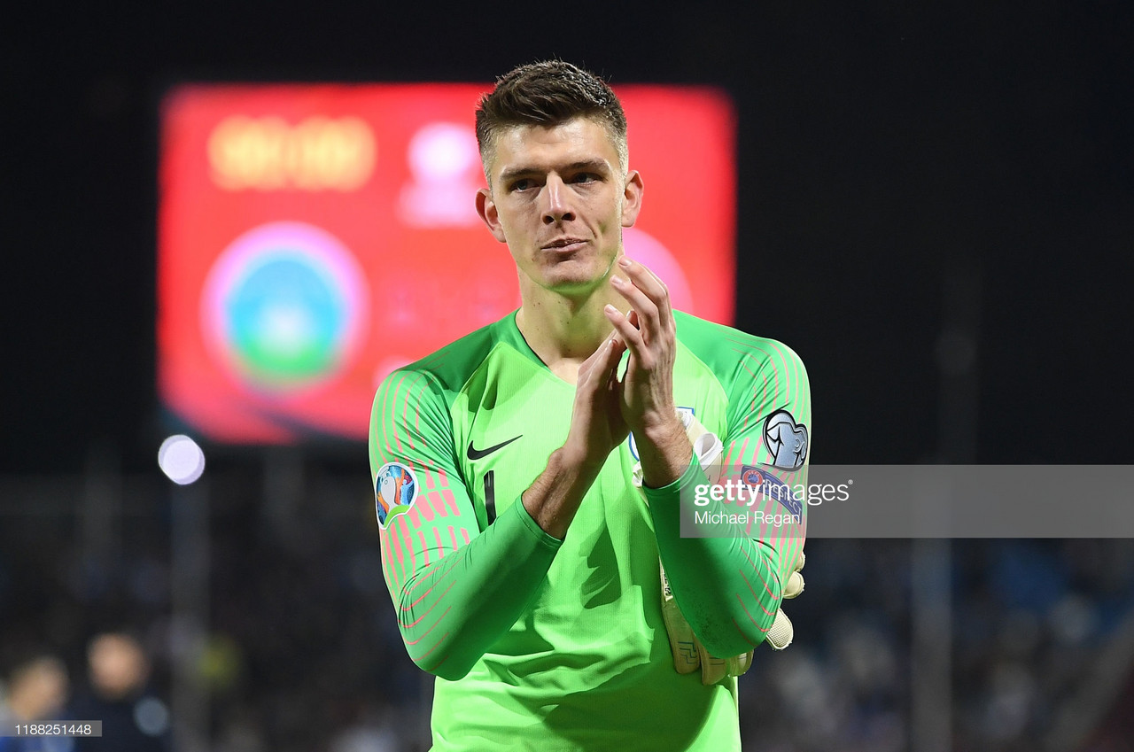 Nick Pope expresses 'unbelievable pride' after competitive England debut
