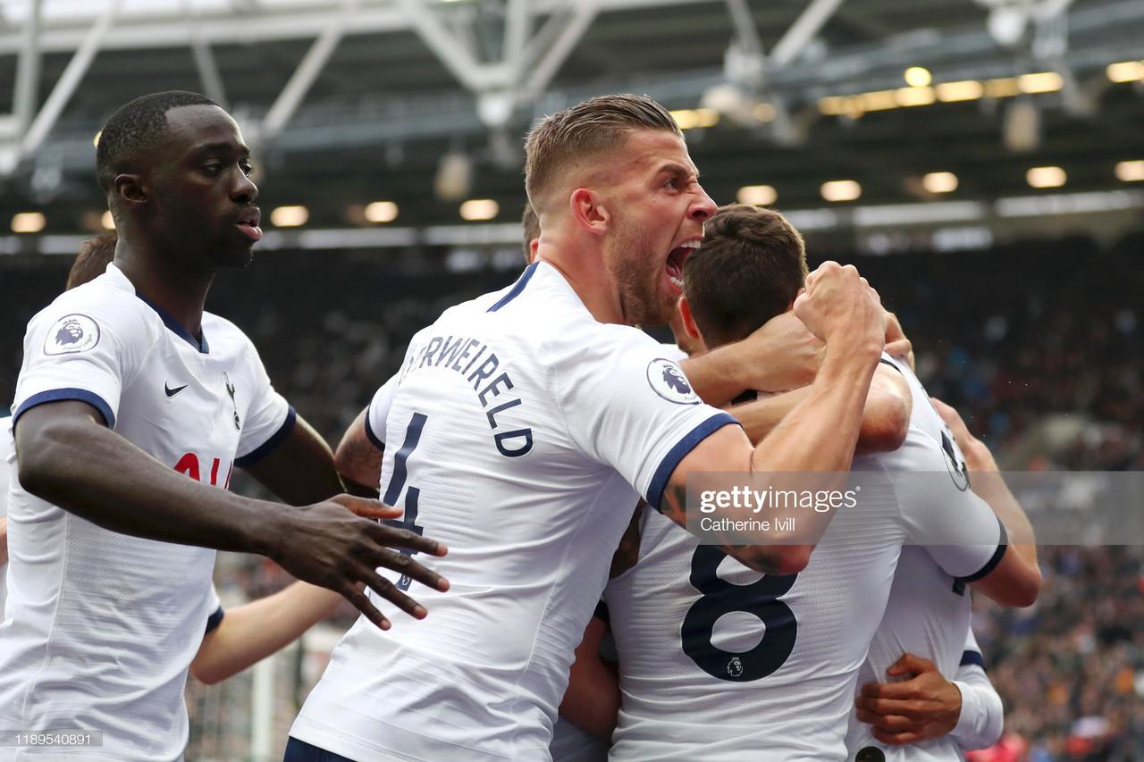 West Ham United 2-3 Tottenham Hotspur: Derby victory for Mourinho's men
