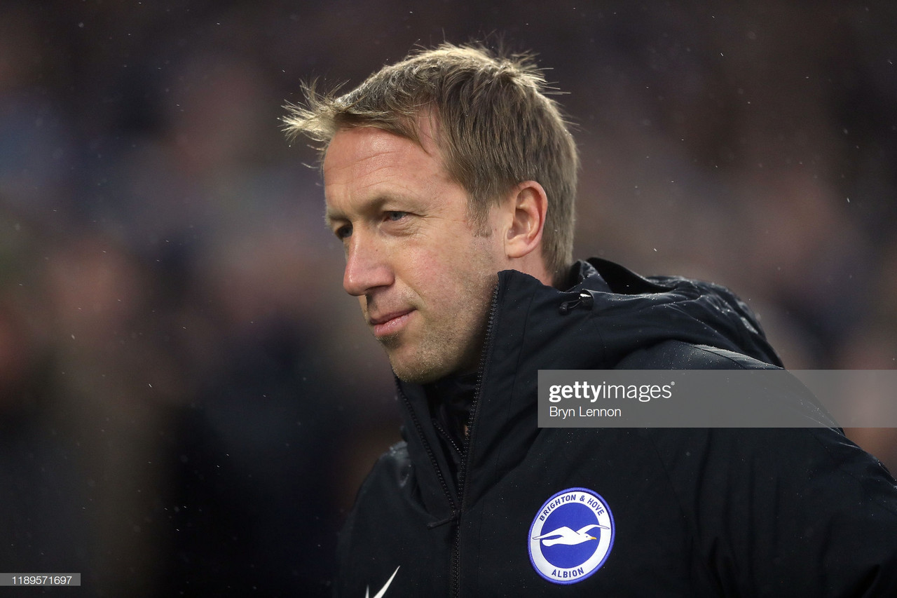 Brighton commit Graham Potter to new six-year deal