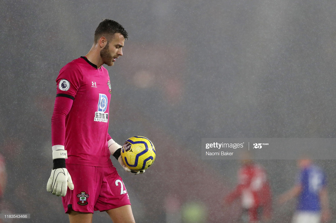 Angus Gunn set to leave Southampton