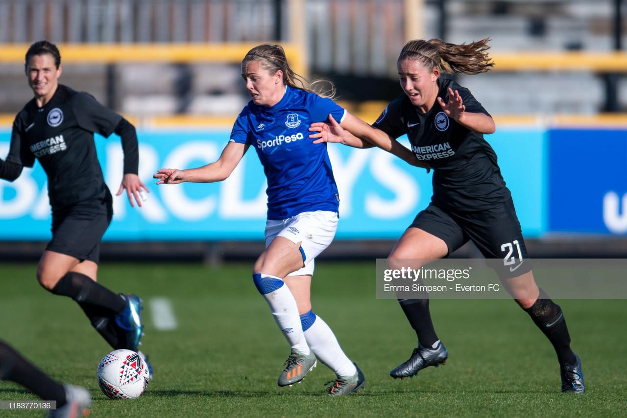 Maya Le Tissier praises Brighton's spirit as Seagulls hold on to beat Everton