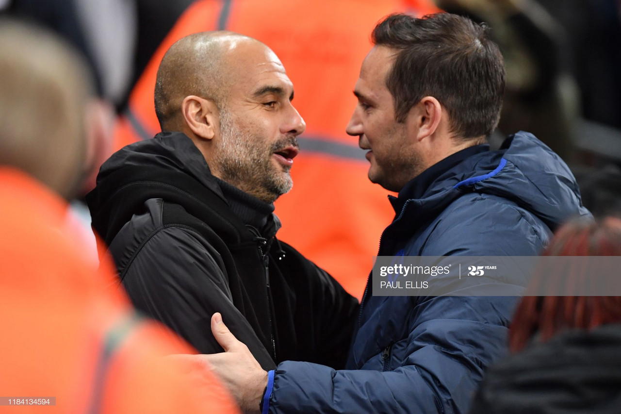 """Guardiola: """"Lampard WILL be an extraordinary manager."""""""