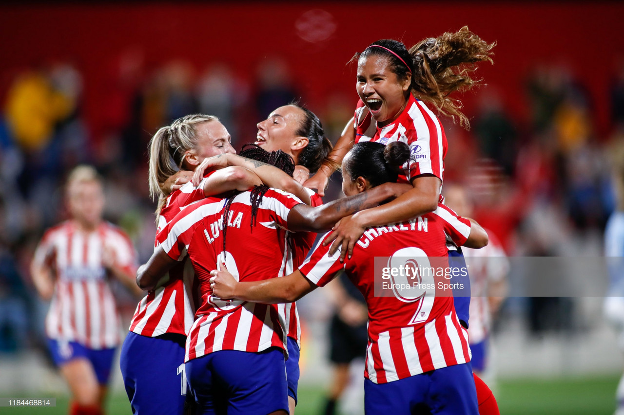 Atletico Madrid Femenino 2-1 Manchester City Women: Blues bow out of the UWCL