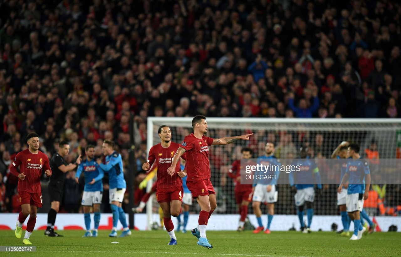 Liverpool 1-1 Napoli: Reds grind out draw at Anfield