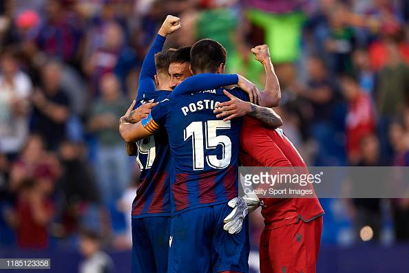 Levante 3-1 Barcelona: Campaña inspires a comeback home victory against Barcelona