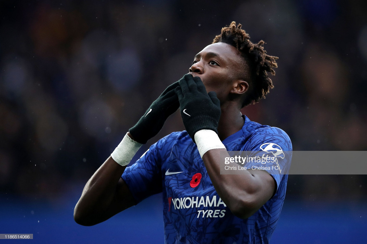 Chelsea 2-0 Crystal Palace: Tammy Abraham continues to chase golden boot