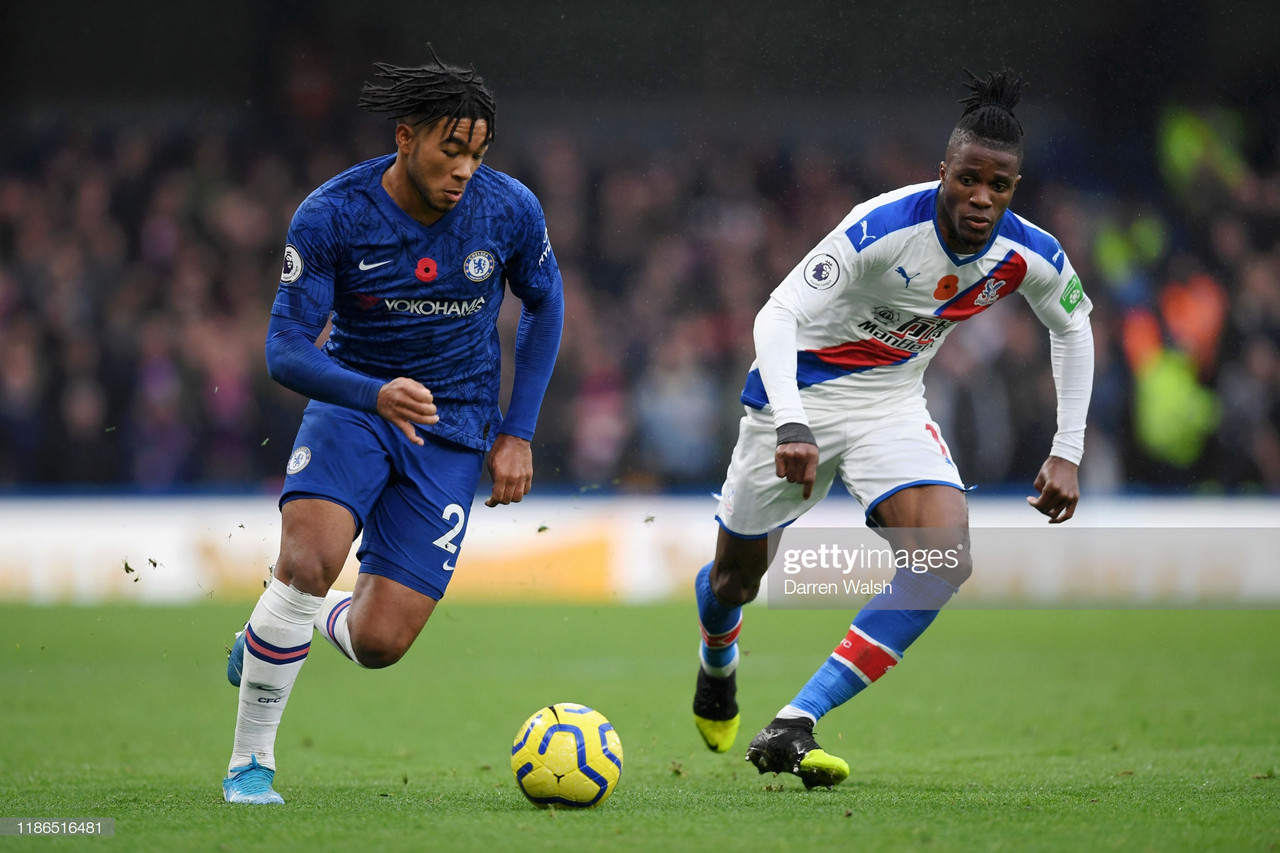 Frank Lampard claimed Reece James was 'fantastic' on Premier League debut in satisfying 2-0 win over Crystal Palace