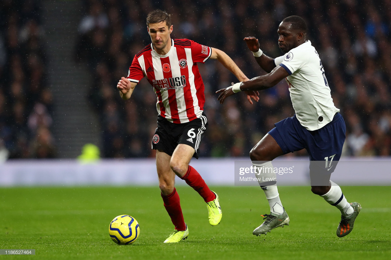 As It Happened: Tottenham and Sheffield United both settle for a point after a hectic contest filled with controversy