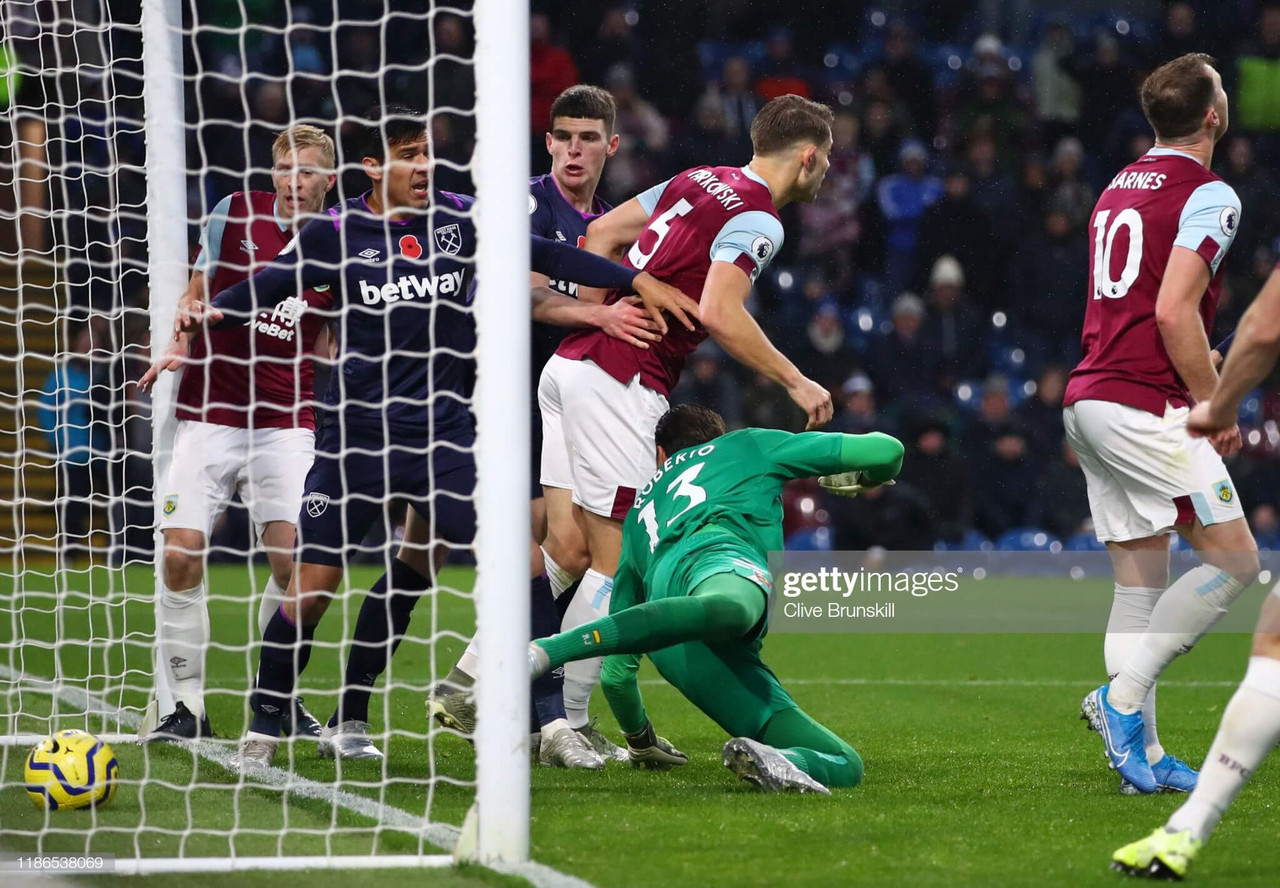 Burnley 3-0 West Ham: Dyche's men pile misery on woeful Hammers
